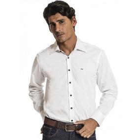 Camisa Masculina Branca Slim Fit Buon Giorno Benito
