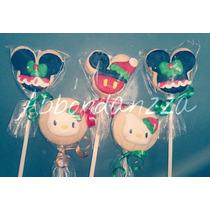 Galletas Decoradas Mamut Bubulubu Navidad Hello Kitty Mickey