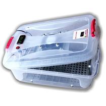 Chocadeira Plástica 54 Ovos, Automática Digital Forçada Ar.