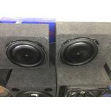 Woofers Planos Jl Audio 13w5 Con Bafles