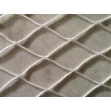Rede De Proteção Malha 5cm Cor Pretae Bran Direto Da Fábric