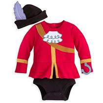 Disfraz Capitan Garfio Bebe Disney Store Traje Pirata Hook