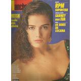 Revista Manchete 1797/1986 - Vanessa - Rpm - Roberta Close