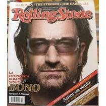 Revista Rollingstone: Bono De U2, Musica, Fotos. En Español