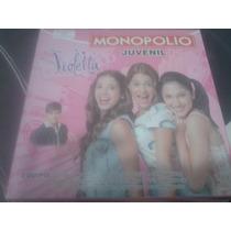 Juego Monopolio Juvenil De Violeta, Impecable !!!