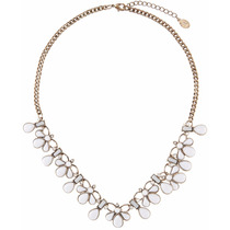 Accessorize Colar Snow Drop Mini Statement Necklace