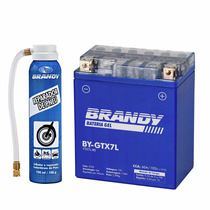Bateria Honda Lead 110 Gel Brandy By-gtx7l + Reparador