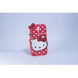 Estuche Protector Goma Hello Kitty Samsung Galaxy Note 3 Neo