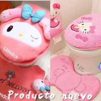 Hello Kitty My Melody Juego Baño