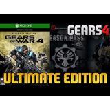 Gears Of Wars 4 Edi Ultimate + Pase De Temporada Xbox Y Pc