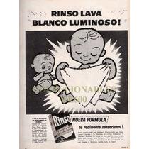 Publicidad - Rinso Jabon En Polvo