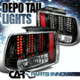 Luces Traseras Ford Mustang 99-04 Led