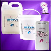 Shampoo De Lavatório Hidratante Pro De Cabeleireiro 5 Litros