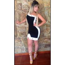 Vestido Colado Curto Roupa Feminina Balada Festa Blogueiras