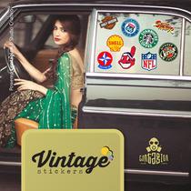 Adesivos Marcas Antigas Carros Motos Retro Vintage Antigo
