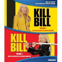 Peliculas Kill Bill Vol 1 & 2 Blu Ray