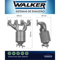 Catalisador Novo Original Walker Gm Corsa Celta Prisma 02/..