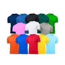 Camiseta Profissional Malha Fria Poliviscose - Colorida