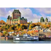 Quebra Cabeça Puzzle Quebec Canadá 1500 Peças Grow