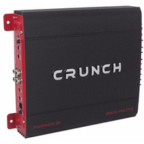 Amplificador Para Auto Crunch Px-2000.1d 2000w Envío Gratis