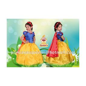 Vestido Princesa Blanca Nieves
