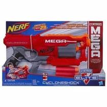Lançador De Dardo Nerf N-strike Mega Cyclone Original Hasbro