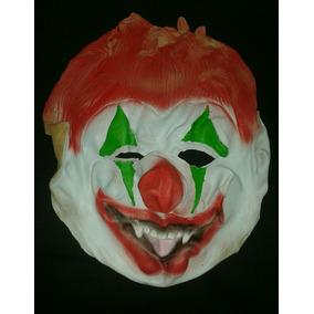 Mascara De Payaso Flexible De Goma, Carnaval, Halloveen.