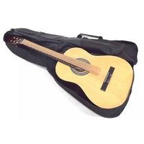 Bag Para Violão Clássico Ou Folk Nylon 600 Impermeável