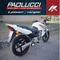 Escape Competicion Honda Twister Cbx 250 Cromado Paolucci