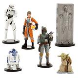 Set De Figuras Star Wars Y Figuras Princesas Disney Tortas