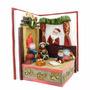 Navidad Pesebre Con Sonido Luz Ref:ms#222 Medida23x18x15cm