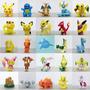 Mini Figuras Pokemon Go Surtidas X 12 Unidades