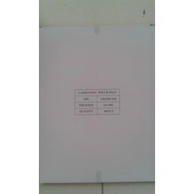 Laminas Para Plastificar Tamano Carta 230x300mm 125 Micras