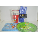 Piñata Angry Birds Fiesta Cumpleaños Decoración Piñatería