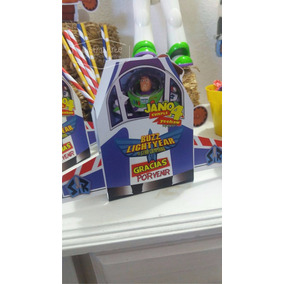 Cajitas Golosineras Nave Buzz Toy Story X 10 Uds