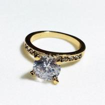 Anillo Dama Baño De Oro 18k Nice Regalo Para 14 De Febrero