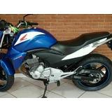 Tanque Moto Honda Cb300 Azul Twister 2014 Todas+frete Gratis