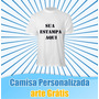 Camisas Personalizadas Com Foto, Gospel, Aniversario, Evento