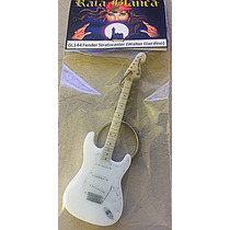 Guitarra Llavero Fender Stratocaster W Giardino Rata Blanca