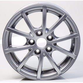 Jogo De Rodas Aro 14 5x100 Polo Fox Bluemotion Original Vw