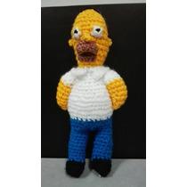 Homero Simpson De Crochet