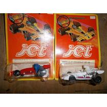 Lote 2 Jet Prototipo Brabham Bt Antiguo Reutemann Nuevo
