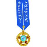 Medallas Bachiller 5 Puntas Lista Para Usar