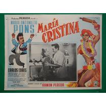 Maria Antonieta Pons Maria Cristina Rumbera Cartel De Cine