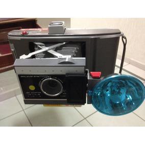 Fabulosa Antiga Camera Fotográfica Polaroide Grande