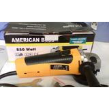 Esmeril American Boss 850 Watts 4 1/2 . Nuevo
