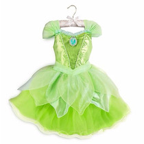 Disney Store Disfraz Tinkerbell Luces Orig Levhe Importados