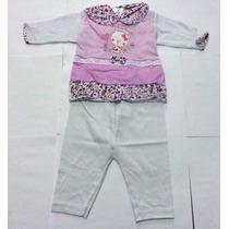 Conjunto Pagão Para Bebê Com 3 Peças Femenino- Bruno Baby