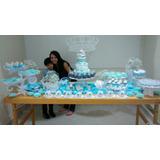 Maçã Do Amor De Chocolate Azul Tiffany 12 Unidades