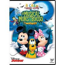 Dvd A Casa Do Mickey Mouse Da Disney - O Musical Monstruoso